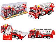 Машинка инерционная «Пожарная 101», 202, отзывы
