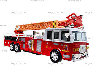 Игрушечная пожарка с лестницей, 2199A, купить