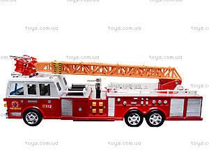 Игрушечная пожарка с лестницей, 2199A, игрушки