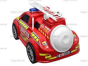 Игрушечная инерционная пожарная машина, 5398, фото