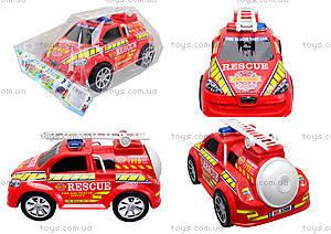 Игрушечная инерционная пожарная машина, 5398