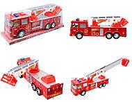 Инерционные машинки серии «Пожарка», SH-880506