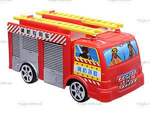 Игрушечная машина «Пожарная», TS-5512, фото
