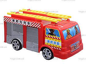 Игрушечная машина «Пожарная», TS-5512, отзывы