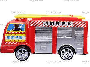 Игрушечная машина «Пожарная», TS-5512, игрушки