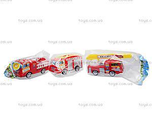 Игрушечная машина «Пожарная», TS-5512, детские игрушки