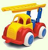 Пожарная машина детская, 1211, фото
