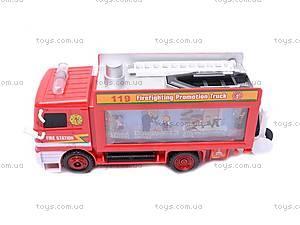 Пожарная машина для детей, B988A, фото
