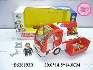 Пожарная машина «Городской помощник», DIY57599A