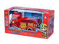 Пожарная машина из мультика «Тачки», B938A
