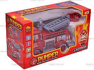 Пожарная машина, музыкальная, B838A, купить