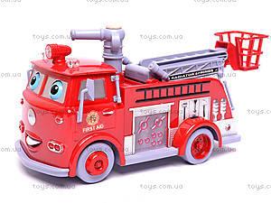 Пожарная машина, музыкальная, B838A