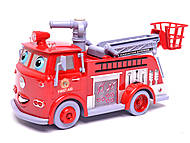 Пожарная машина, музыкальная, B838A, фото