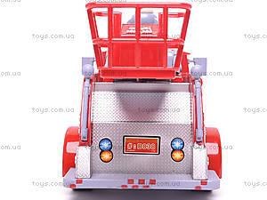 Пожарная машина, музыкальная, B838A, игрушки