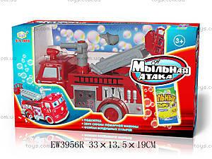Пожарная машина «Мыльная атака», EW3956R