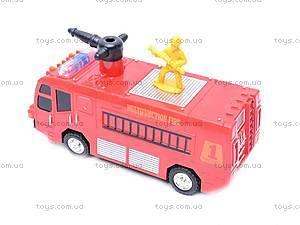 Пожарная машина с мыльными пузырями, 1098, отзывы