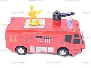 Пожарная машина с мыльными пузырями, 1098, цена