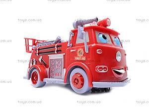 Пожарная машина, с мыльными пузырями, B838B, фото