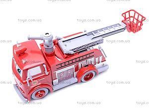 Пожарная машина, с мыльными пузырями, B838B