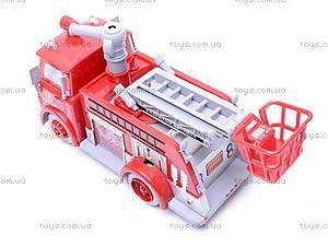 Пожарная машина, с мыльными пузырями, B838B, цена