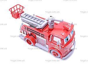 Пожарная машина, с мыльными пузырями, B838B, игрушки