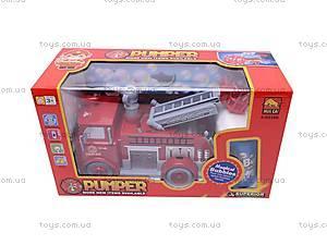 Пожарная машина, с мыльными пузырями, B838B, детские игрушки