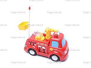 Пожарная машина с мыльными пузырями, р/у, JY639R, купить