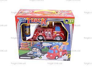 Пожарная машина с мыльными пузырями, р/у, JY639R, отзывы
