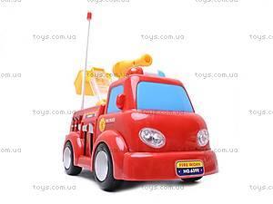 Пожарная машина с мыльными пузырями, р/у, JY639R, цена