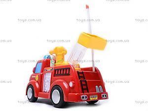 Пожарная машина с мыльными пузырями, р/у, JY639R, игрушки