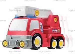 Пожарная машина серии «Строй и играй»,