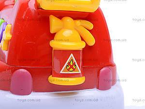 Пожарная машина, со световыми и звуковыми эффектами, MQ333-2, игрушки