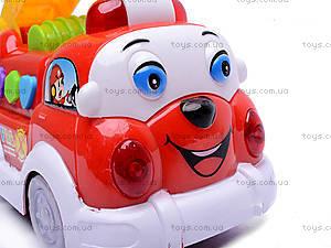 Пожарная машина, со световыми и звуковыми эффектами, MQ333-2, детские игрушки
