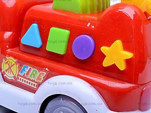 Пожарная машина, со световыми и звуковыми эффектами, MQ333-2, магазин игрушек