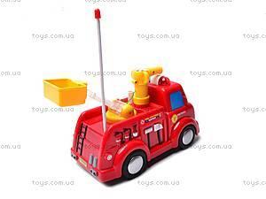 Пожарная машинка с мыльными пузырями, 639R, купить