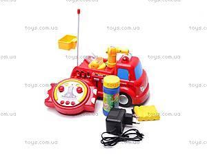 Пожарная машинка с мыльными пузырями, 639R