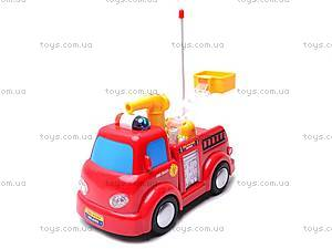 Пожарная машинка с мыльными пузырями, 639R, фото