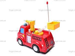 Пожарная машинка с мыльными пузырями, 639R, отзывы