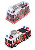 Пожарная машина, с эффектами , SD-012D(1269028)