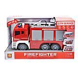 """Пожарная машина """"City service"""", WY850A, купить"""