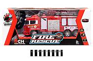 Пожарная машина «FIRE RESCUE» на РУ, 666-192А, игрушки
