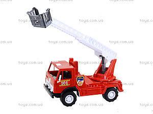 Игрушечная пожарная машина с лестницей, 027, купить