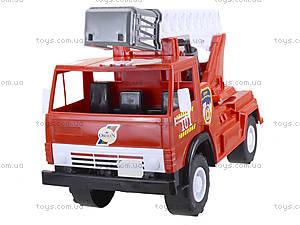 Игрушечная пожарная машина с лестницей, 027, фото