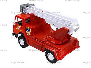 Игрушечная пожарная машина с лестницей, 027, цена