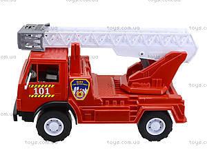 Игрушечная пожарная машина с лестницей, 027, детские игрушки