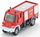 Пожарная машина «Mercedes-Benz Unimog» Siku, 1068, купить