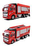 Пожарная машина, игрушка, 2211-11, купить