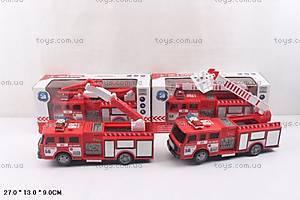 Пожарная машина на батарейках, SD-023D024D