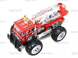 Пожарная машина на радиоуправлении для детей, 1911-19A, детские игрушки