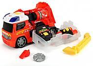 Пожарная машина с аксессуарами пожарного , 371 6006